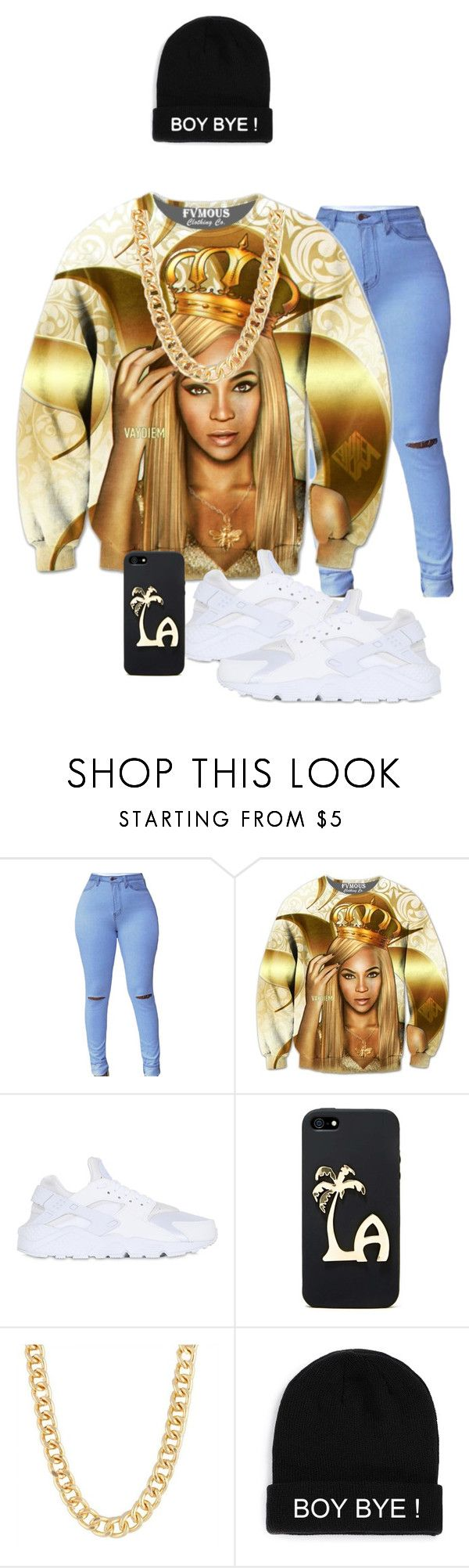 """""""beyonce"""" by khajay-jordan ❤ liked on Polyvore featuring NIKE and Alexia Crawford"""