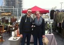Brooklyn Flea - a huge flea market