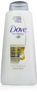 Dove Nourishing Oil Conditioner, 25.4 Ounce