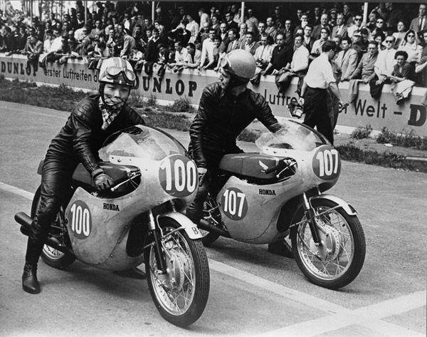 高橋国光さん(1961年西ドイツGP、RC162)