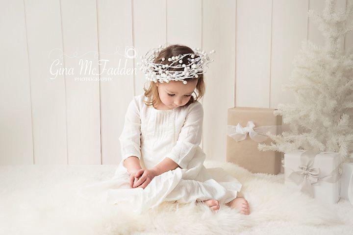 Christmas mini session...little angel
