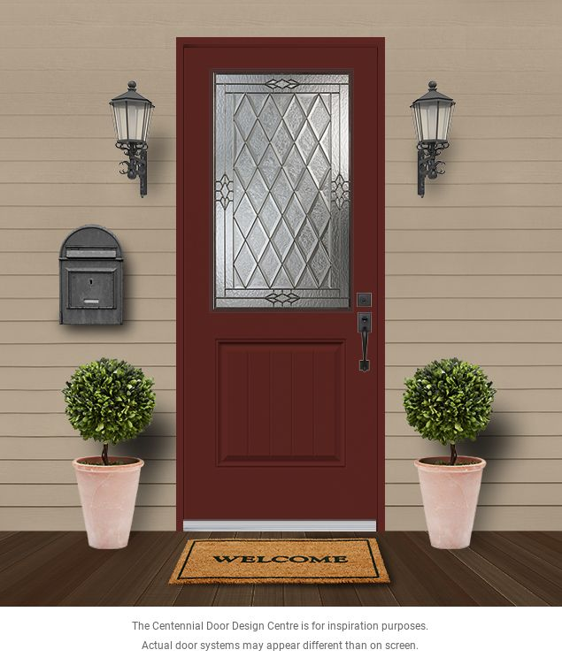 High Definition Wood Grain Fiberglass Doors Kohltech Windows And Entrance Systems Canada Available At Centennial Glass In Ottawa Doors Entrance Outdoor Structures