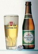 Cerveja Martens Pils, estilo German Pilsner, produzida por Brouwerij Martens, Bélgica. 5% ABV de álcool.