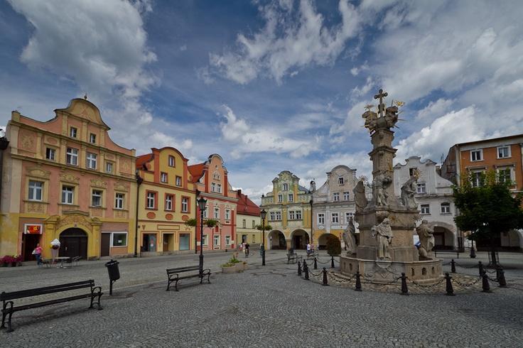 #Ladek-Zdroj market square & fountain, Poland