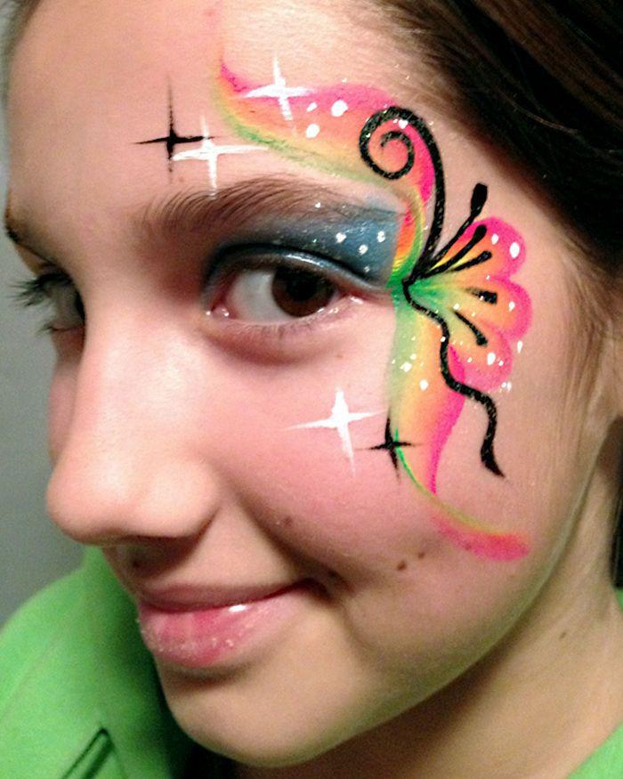 478 best Face Paint Quick Eye Designs images on Pinterest Face