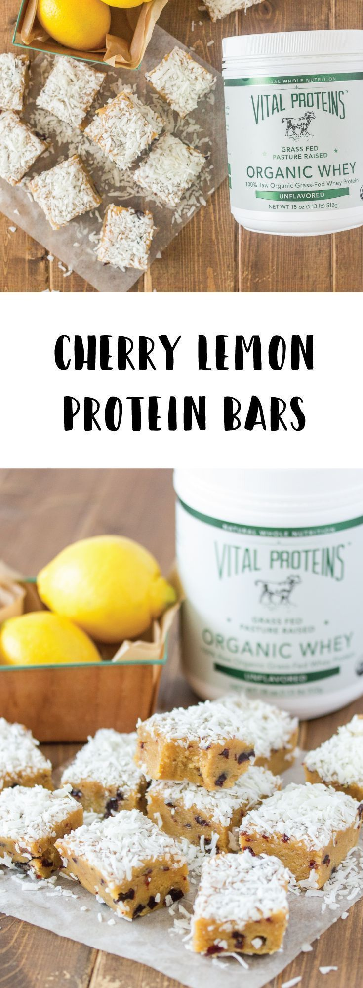 Make your own protein bars with our grass-fed Organic Whey protein!