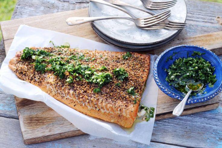 Punten scoren met vis op de barbecue - Recept - Allerhande