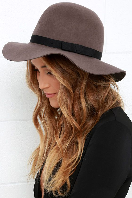 Brixton Dalila Taupe Hat very pretty - can go with so many things!
