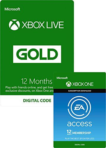 Microsoft EA Access and Xbox Live Gold Membership 12 Months [Xbox Live Online Code] No description http://www.comparestoreprices.co.uk/january-2017-2/microsoft-ea-access-and-xbox-live-gold-membership-12-months-[xbox-live-online-code].asp
