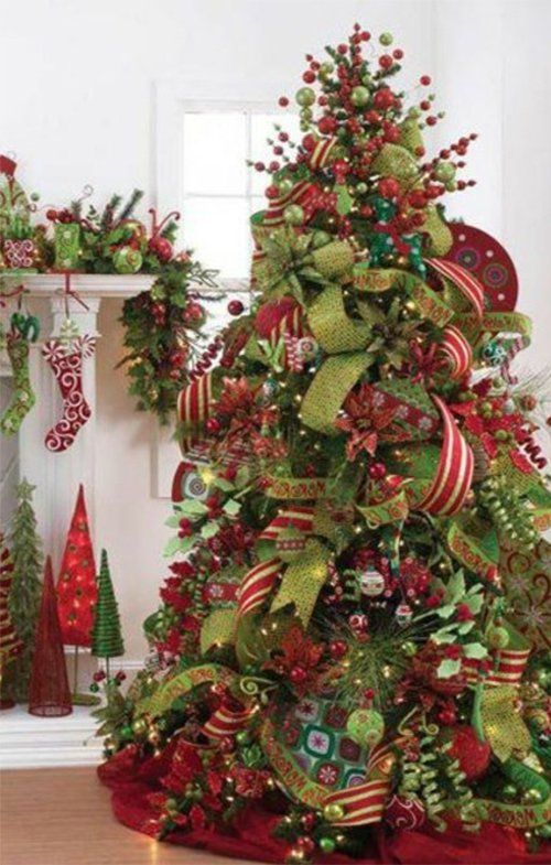 25 best ideas about ribbon on christmas tree on pinterest for Todo decoracion