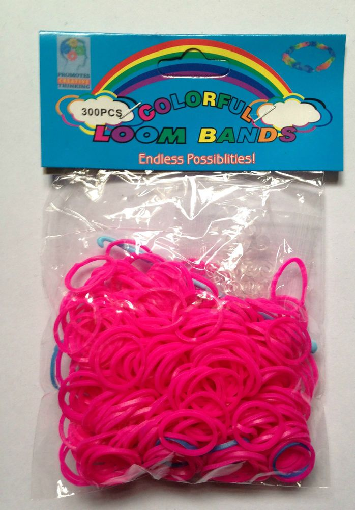 300pcs Colorful Loom Bands for Kids Bracelet Making Endless Possibilities