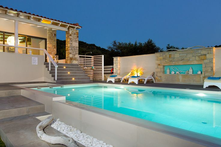 Villa Veni in Kolymbari, Chania, Crete. #villa #greece #crete #vacationrental #luxury #private #pool #island #chania