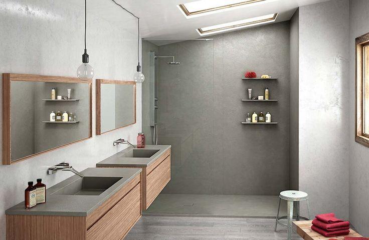 En stratifié, acrylique…, les panneaux muraux de douche permettent de rénover la douche vite fait bien fait. Sans joint, ils sont toujours impeccables.