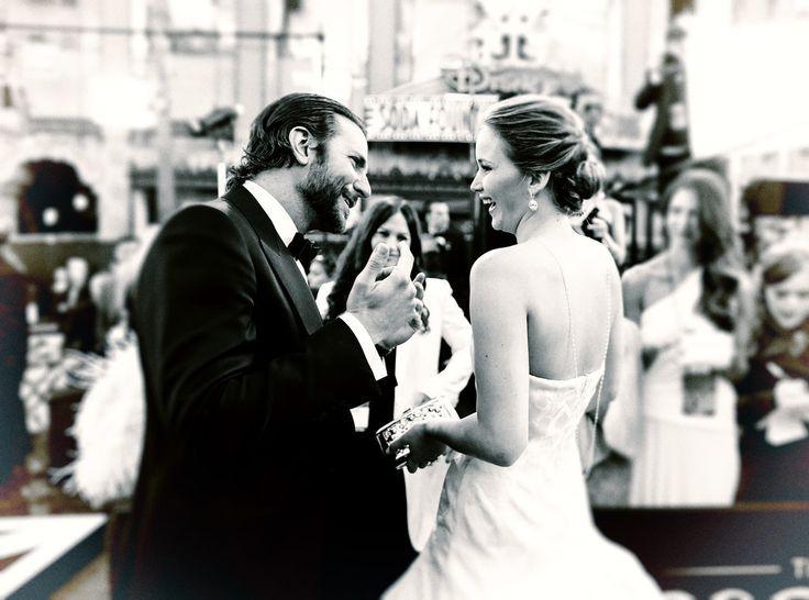 Cute Jennifer Lawrence and Bradley Cooper Pictures | POPSUGAR Celebrity