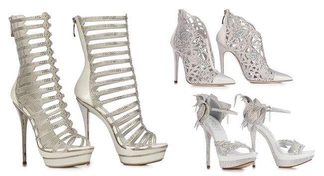 La collezione scarpe da sposa 2015 targata Loriblu si illumina di dettagli lucido silver in abbinamento a forme scultore che regalano qualche cm in più, puntando su un design ricercato, femminile e...