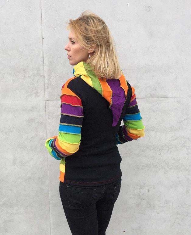 Bluza Rainbow - SansaraShop - Bluzy rozpinane