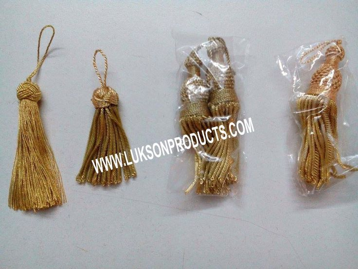 Hand Made Tassels. Available Many Design Colors Size  Email Us For Catalog: Luksonproducts786@gmail.com Visit Us: www.luksonproducts.com
