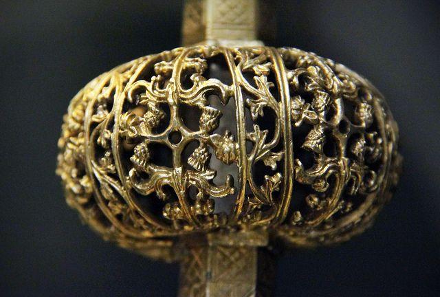 Detail - Hugarian metal work, medieval @ Hungarian National Museum