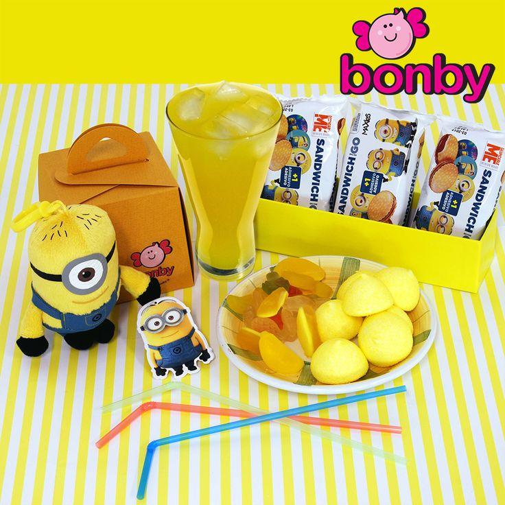 Iniziamo la settimana con un po' di giallo come il sole, personaggi Minions e le caramelle al gusto limone oggi rallegrano la tua giornata!