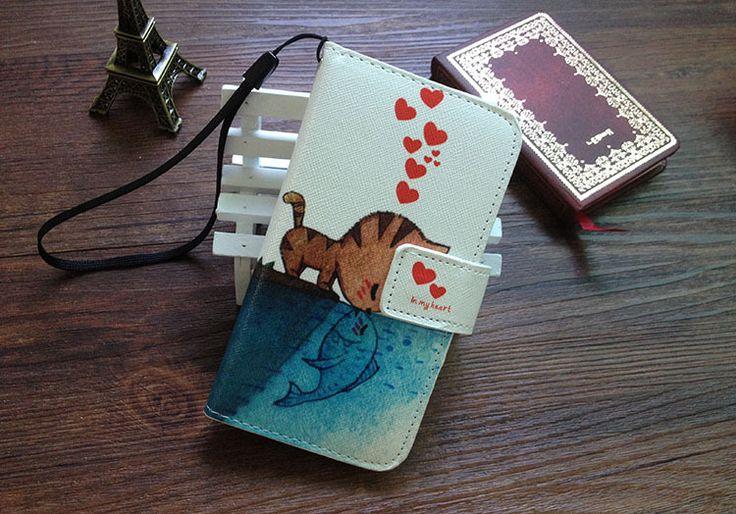 7 цветов, Для iPhone 6 6 s 4.7 дюймов флип искусственная кожа мода живопись с уоллент держатель чехол + шнурки подарков
