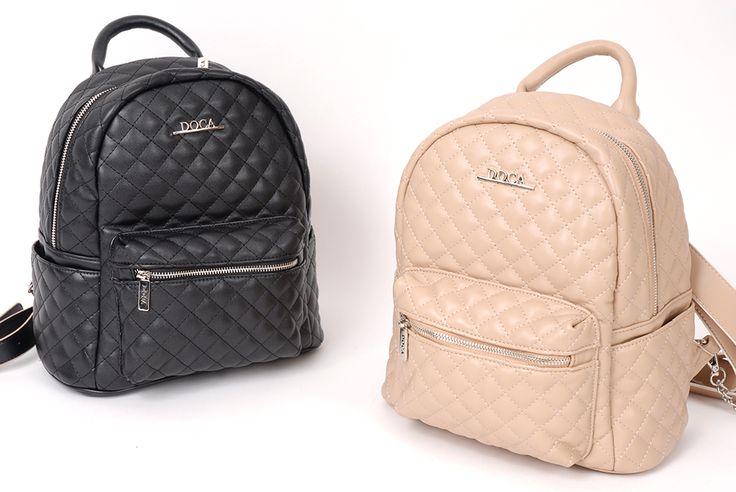 Chic backpacks... www.doca.gr