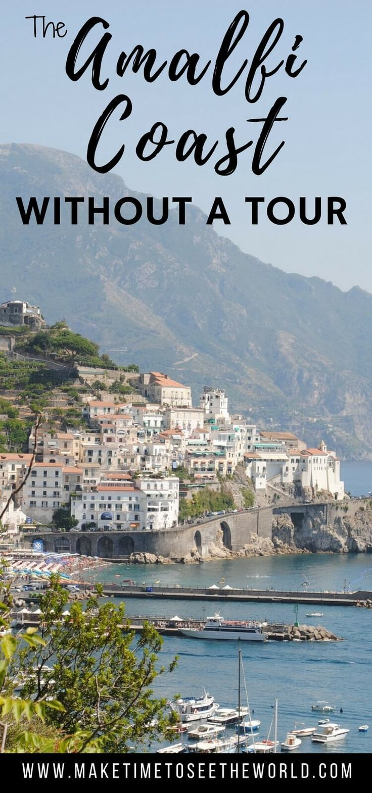 Plan your own DIY Amalfi Coast Tour to Positano, Amalfi & Ravello including how to get there, where to stay and where to eat in each village. Travel in Italy.