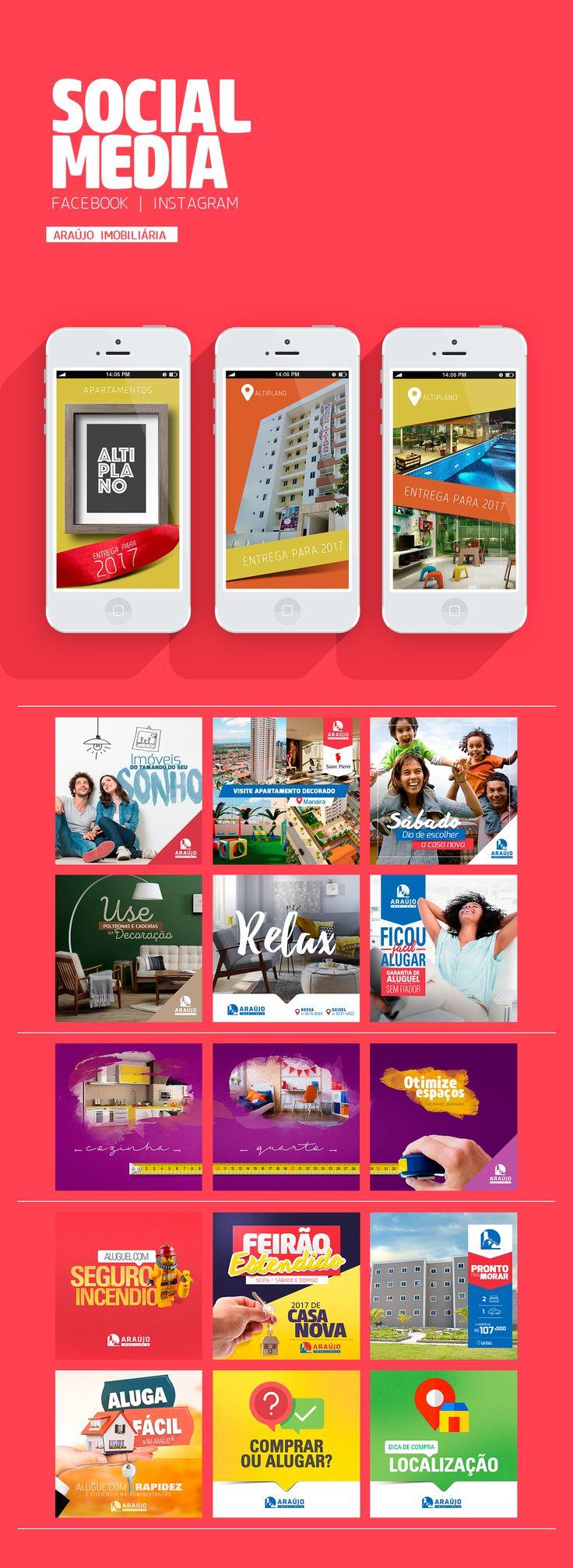 SOCIAL MEDIA | Araújo Imobiliária on Behance