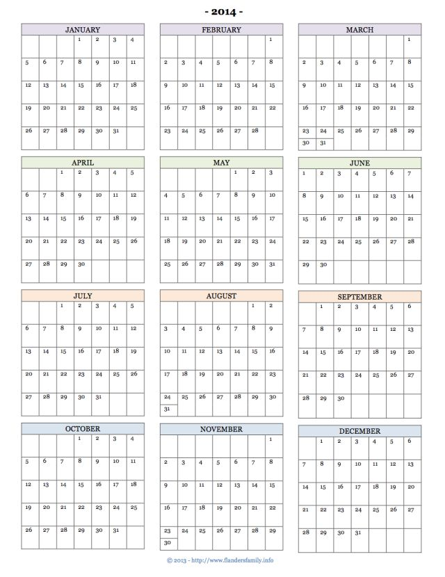 97 best Printable - Calendars images on Pinterest | Printable ...