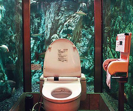 Aquarium Bathroom