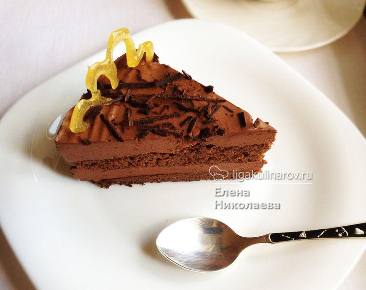 Главное фото рецепта: Торт Шоколадное суфле