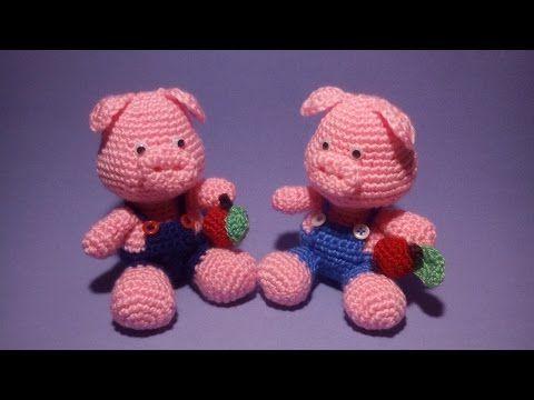 Tutorial Elfi Amigurumi : Tutorial amigurumi babbo natale uncinetto how to crochet santa