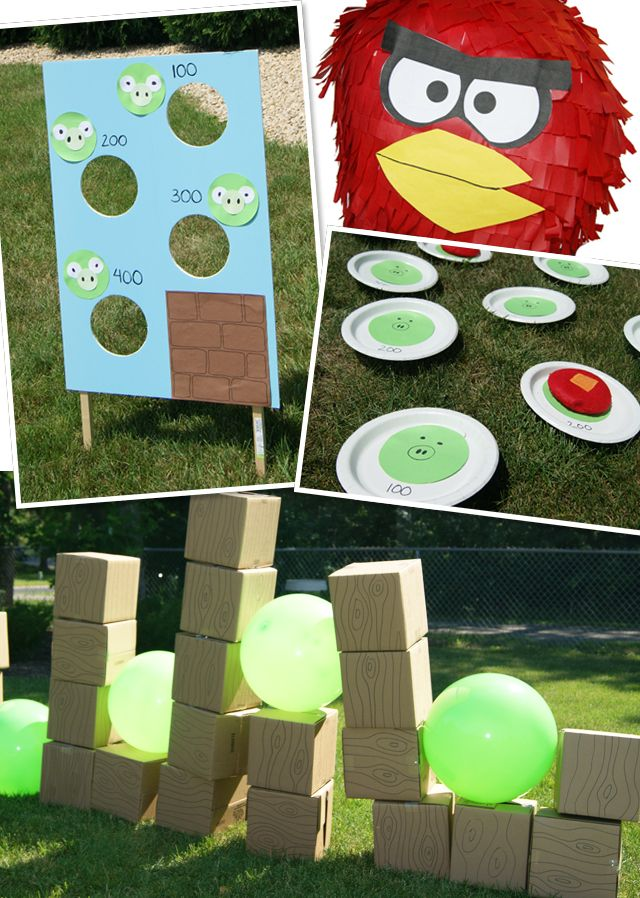 Angry bird games sadly the link doesn 39 t work harvest for Angry bird decoration ideas