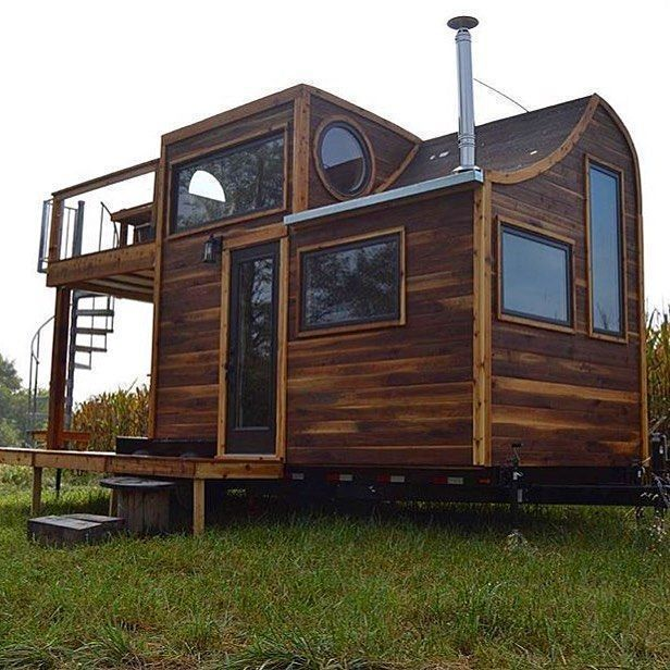 The Honey on the Rock Tiny House by Carpenter Owl @carpenterowl #tinyhouse  #architecture #home #micro #nature #tinyhomes #architect #house #modern  #green #tinyh…