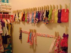 Headband holder. And if I ever do have a girl I'm pretty sure she would have that many headbands and bows :-)