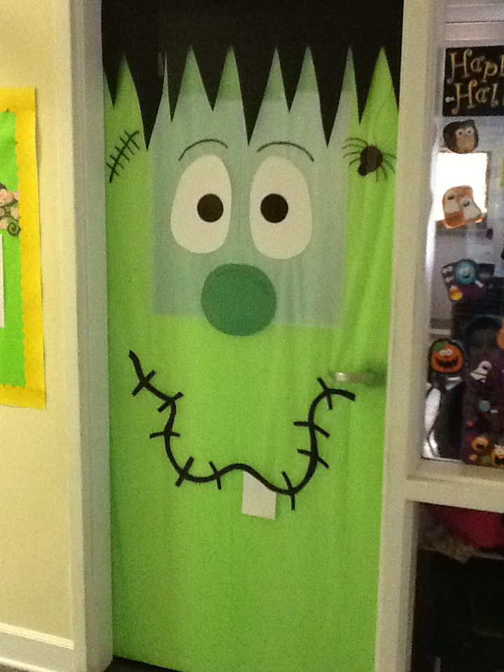 Best 25 Halloween Classroom Door Ideas On Pinterest
