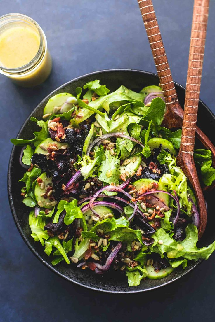 Best Simple Tossed Green Salad