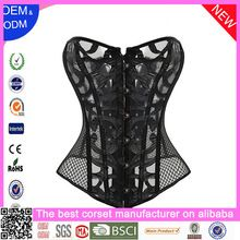 Women Black Lace Punk Fashion Boned Corset Shaper Bra Starp  Best buy follow this link http://shopingayo.space