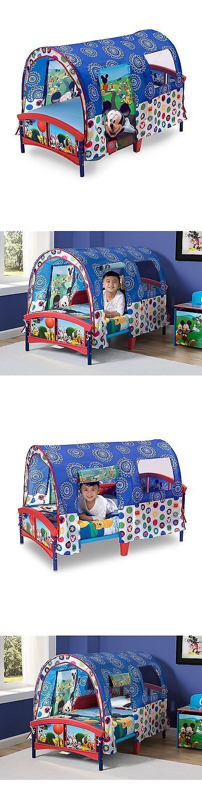 Dollhouse Size 19179: Delta Children Toddler Tent Bed, Disney Mickey Mouse -> BUY IT NOW ONLY: $76.93 on eBay!