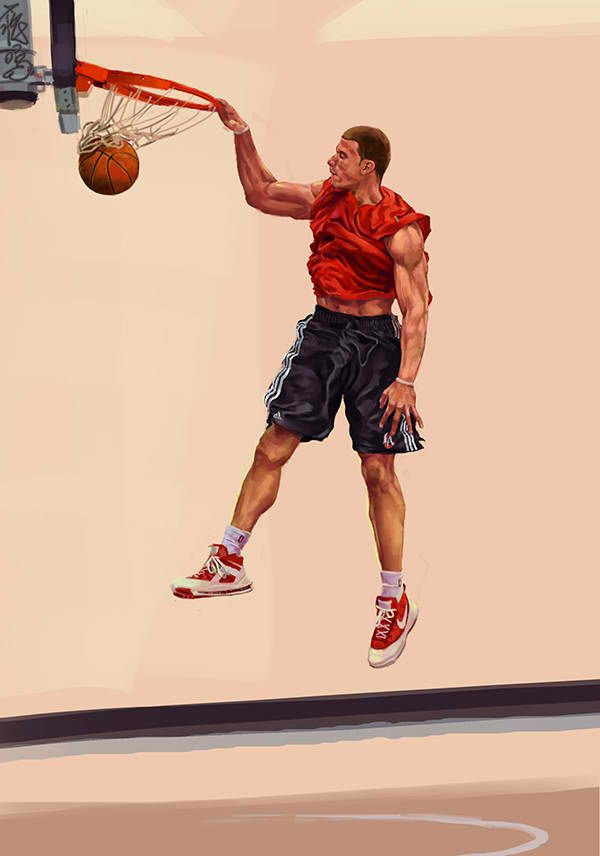 A Picture of One of the Best Dunkers In the NBA Blake ...