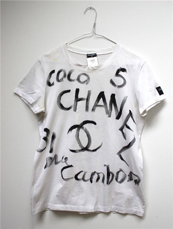 Tshirt från Chanel på Tradera.com - T-shirts, dam storlek 34/36 |