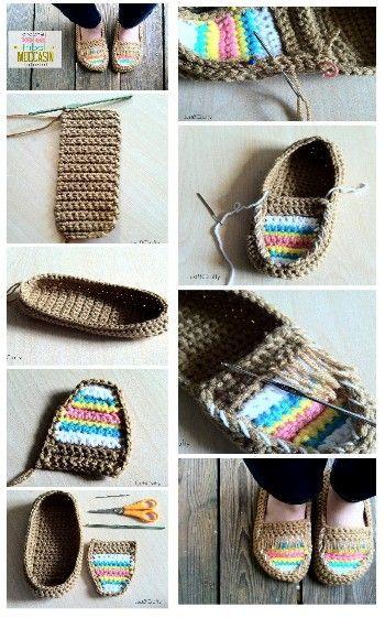 crochet tuto slippers (18)