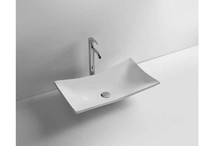 LAVABO WILLOW IN SOLID SURFACE