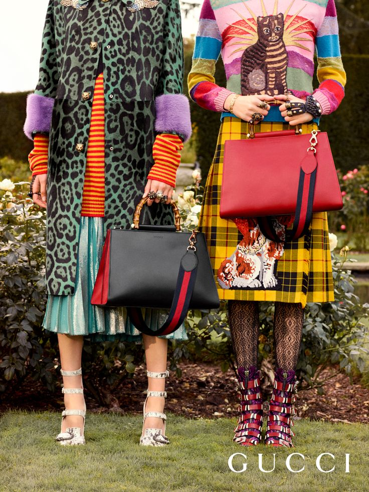 Referencing the water nymphs of Greek and Roman myth who wore pearls in their hair and gowns, the Gucci Nymphaea bag from Gucci Cruise 2017 by Alessandro Michele.