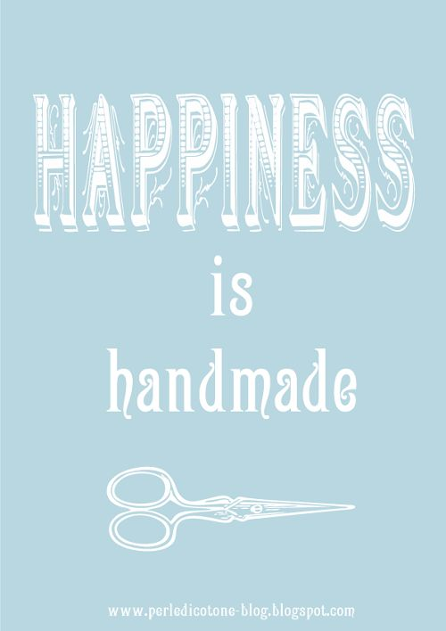 handmade quotes | quotes] happines is handmade - Paperblog  Linda Bauwin - CARD-iologist  Helping you create cards from the heart