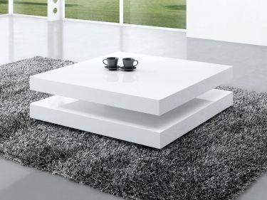 Moderne salontafels hoogglans wit | Aktie Wonen.nl