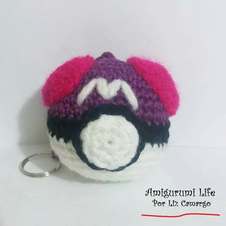 Masterball Amigirumi #pokebola #Pokémon #amigurumilife