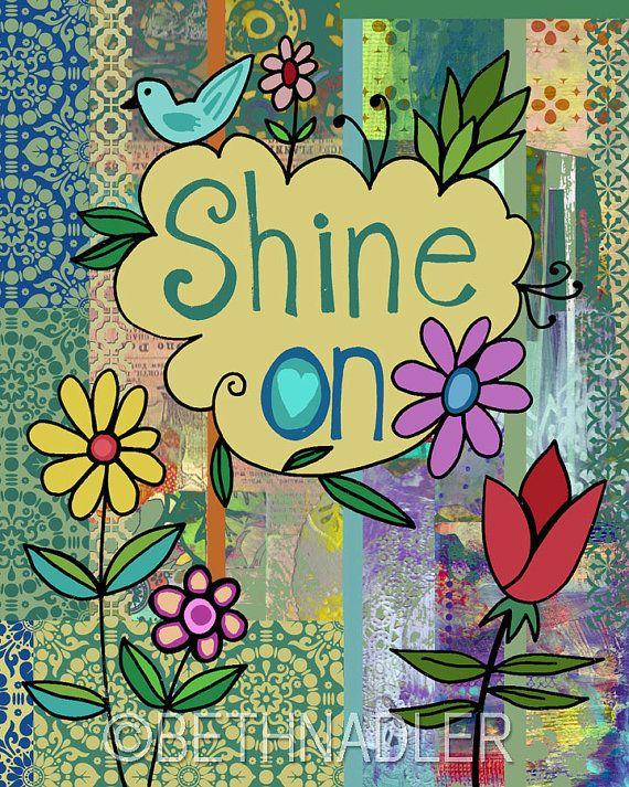 Shine On by Beth Nadler Art