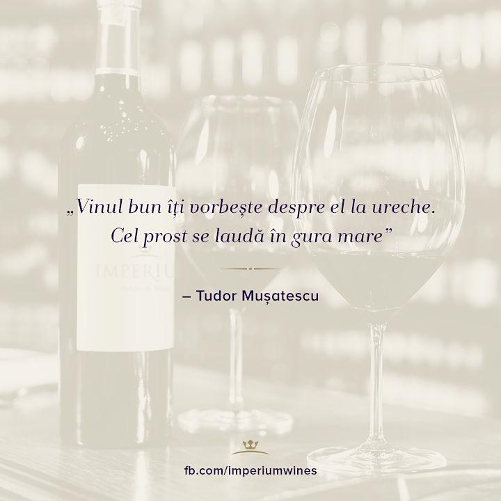 Un citat foarte credibil, despre vinuri!