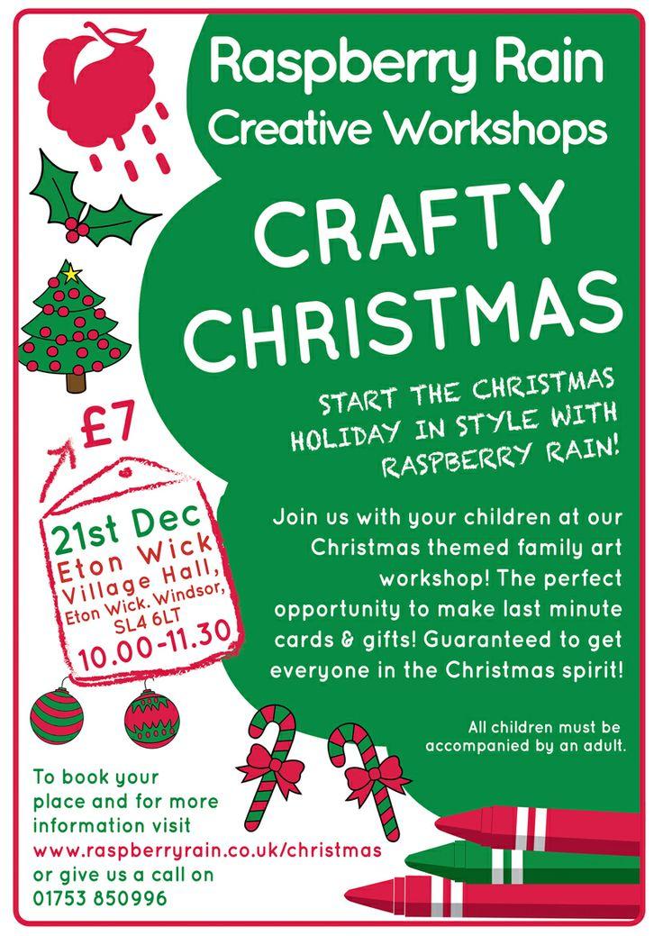 Crafty Christmas, Saturday 21st December 2013 (10.00-11.30)