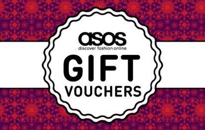 ASOS gift vouchers | Gift voucher details from ASOS | ASOS